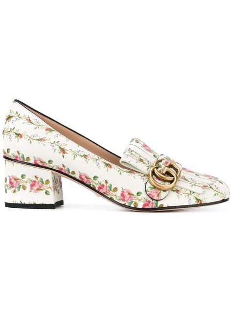 GUCCI   floral Marmont loafers #Shoes #GUCCI   Floral
