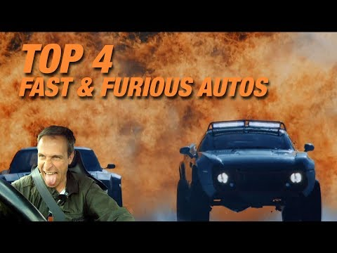 Visit The Fast and the Furious Cars at Universal Studios