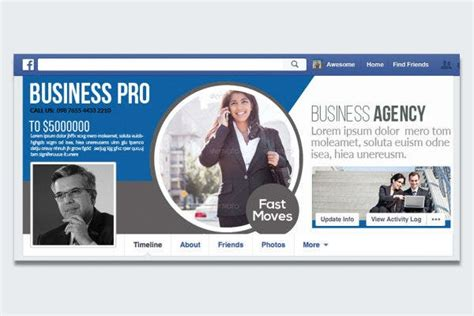 10+ Corporate Facebook Cover Templates - PSD, Word