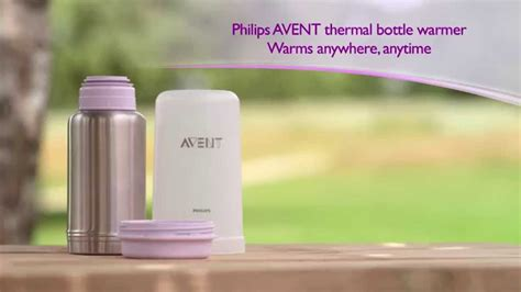 How to use the Philips AVENT thermal bottle warmer - YouTube