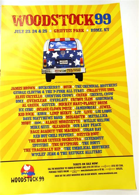 iGavel Auctions: Five Woodstock '99 Posters, N2RRD