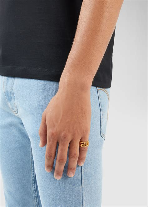 Gucci Ghost Ring On Hand - Fashion Style