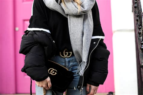 Gucci Belt & GG Marmont Bag by Gucci Outfit Streetstyle