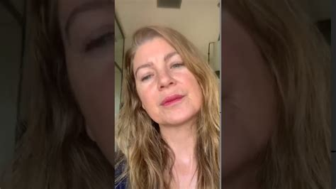 Ellen Pompeo's live on Instagram about COVID-19 - YouTube
