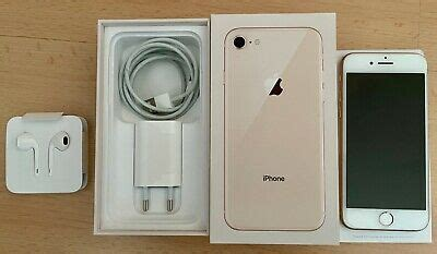 Apple iPhone 8 - 64GB - Gold, A1863, in sehr gutem Zustand