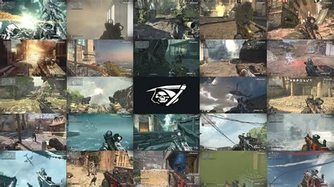 Call of Duty Ghosts Every Multiplayer Map KEM Strike Care
