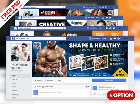 Multipurpose Facebook Cover Templates PSD by PSD Freebies
